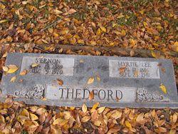 Myrtie Lee Thedford