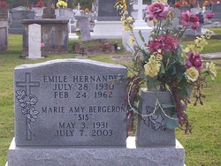 Marie Amy Sis <i>Prejean</i> Bergeron