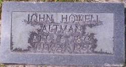 John Howell Altman