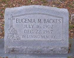 Eugenia M Backes