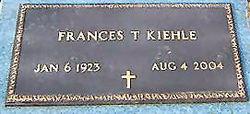 Frances T. <i>Merrell</i> Kiehle