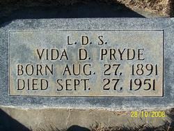 Vida Dorothy <i>Madsen</i> Pryde