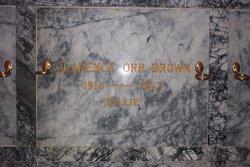Clarence Orr Billie Brown