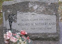Willard Howard Sutherland
