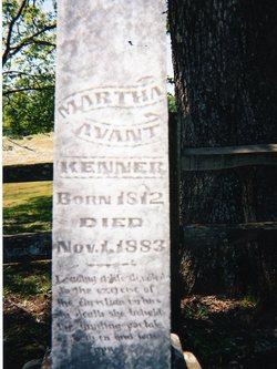 Martha <i>Avent</i> Kenner