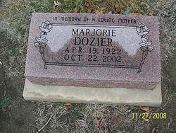 Marjorie Allene <i>Grounds</i> Dozier