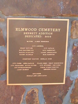 Elmwood Cemetery Bennett Addition