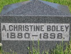 A Christine Boley