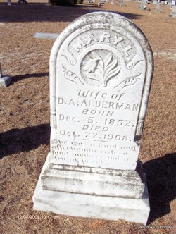 Mary L. <i>Douglas</i> Alderman