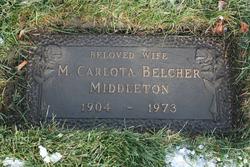 Melissa C <i>Belcher</i> Middleton