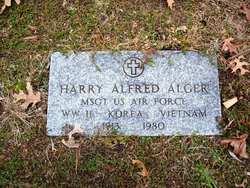 Sgt Harry Alfred Alger