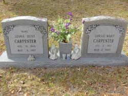 Leona <i>Hunt</i> Carpenter
