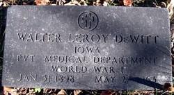 Walter Leroy DeWitt