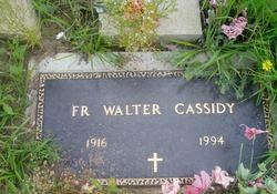 Fr Walter Edward Cassidy