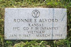 PFC Ronnie Eugene Alvord