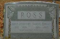 Addie Josephine <i>Renfrow</i> Ross