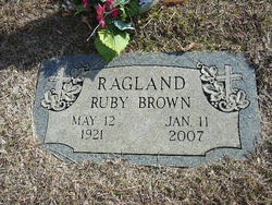 Ruby Fae <i>Brown</i> Ragland
