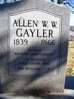 Allen W. W. Gayler