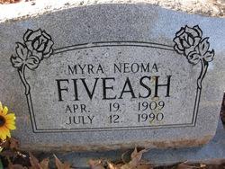 Myra Neoma Minnie <i>Mosley</i> Fivash