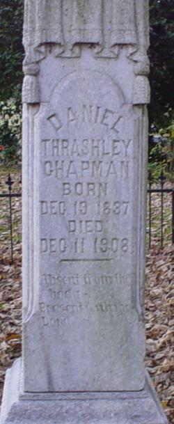 Daniel Trashley Chapman