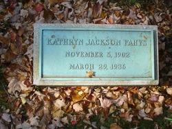 Kathryn <i>Jackson</i> Fahys