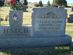 Ella Mae <i>Allphin</i> Hatch
