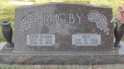 Effie Evans <i>Rigby</i> Cargeeg