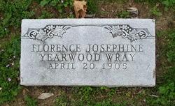 Florence Josephine <i>Yearwood</i> Wray