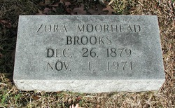 Zora <i>Moorehead</i> Brooks