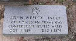 John Wesley Lively