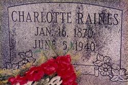 Charlotte Raines