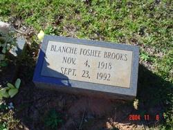 Blanche <i>Foshee</i> Brooks