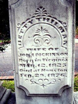 Betty Dickinson