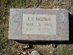 Thomas Vance Bazzoon