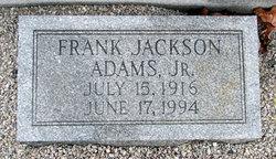 Frank Jackson Adams, Jr