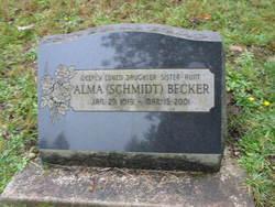 Alma <i>Schmidt</i> Becker