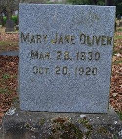 Mary Jane <i>Lower</i> Oliver