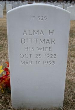 Alma Henrietta <i>Wimmer Stiefferman</i> Dittmar