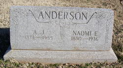 A. J. Anderson