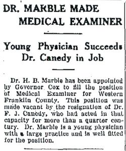 Dr Francis Joel Canedy