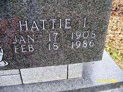 Hattie I. <i>Moss</i> Banderman