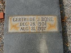 Gertrude <i>Johnson</i> Bone
