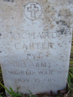 Pvt Richard Carter