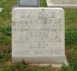 Daveine Wilcox