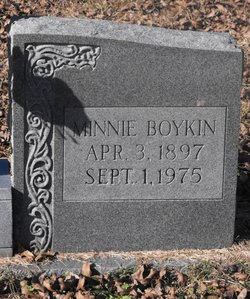Minnie <i>Boykin</i> McRee