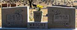 Georga May <i>Martin</i> Wright