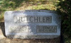 Florence C <i>Engler</i> Mutchler