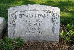 Edward J Evans