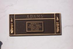Maria C Adams