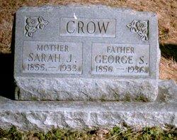 Sarah J <i>McGary</i> Crow